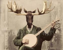 moose art etsy