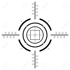 shooter clipart gun sight pencil and in color shooter clipart