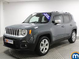 jeep renegade sierra blue used jeep renegade limited for sale motors co uk