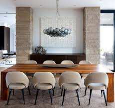 rustic modern dining room wood table modern chairs bold design rustic dining room 9 on home