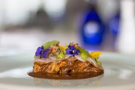 thanksgiving mexican style with turkey con mole from grand velas