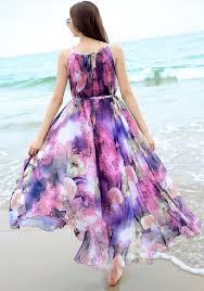 summer floral long chiffon maxi dress gown plus sizes celebrity