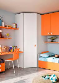 Childrens Bedroom Furniture Sets Unisex Children U0027s Bedroom Furniture Set Orange Fiaba Drago