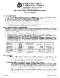 Fillable Online Uid Dli Mt Form Ui 5 Unemployment Insurance | fillable online uid dli mt quarterly wage report form ui 5