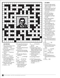 easy crossword puzzles about movies tcm classic movie crossword puzzles turner classic movies turner
