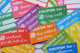 instant download printable love coupon book envelope blank