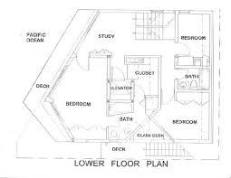 Ocean Shores Floor Plan The Gull House By Lautner Associates The Luxurious Life On The