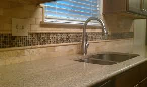 travertine kitchen backsplash alluring travertine kitchen backsplash elegance of travertine