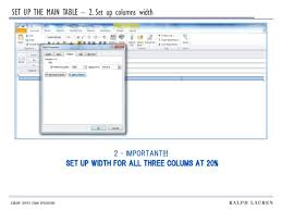 outlook template guide
