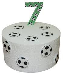 football cake toppers buy pre cut football birthday number 4 football balls edible