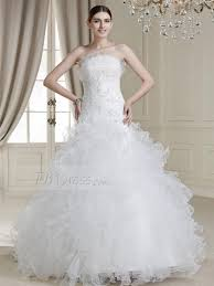168 29 charming ball gown floor length ruffles strapless drop