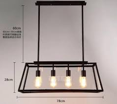 Edison Ceiling Light Buy Industrial Style Ceiling Light 4 Heads Edison At Lifeix Design