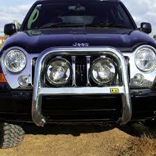 jeep cherokee lights tjm high loop nudge bar suit chrysler jeep cherokee kj tjm perth