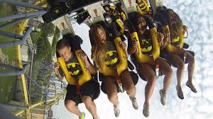 Six Flags Great America New Ride Batman The Ride Celebrates 20 Years At Six Flags 92 5 Xtu