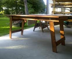 Building Outdoor Wood Table by Free Woodworking Plans To Build A Fabulous Folding Table The