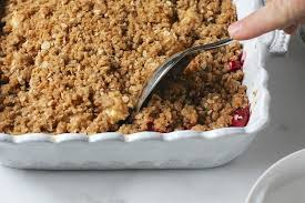 apple pear crumble apple pear cranberry crisp or crumble belle année