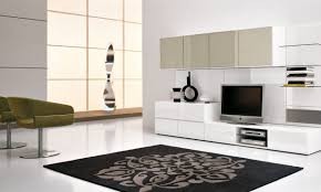 Wall Cabinets For Living Room Living Room Contemporary Open Living Room With Black Wall Units