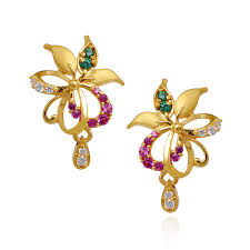 gold earrings with price gold earrings designs with price in tanishq hd trends for gold
