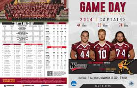 2014 gannon football game program by william nowadly issuu
