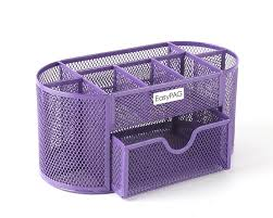 Office Desk Supply Black Mesh Collection Office Desk Supplies Organizer Caddy