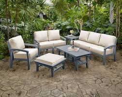 polymer recycled plastic oceanside casual furniture