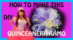 Quinceanera Bouquets How To Make A Quinceanera Bouquet Aka Ramo Diy Youtube
