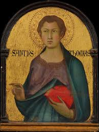 simone martini artist workshop of simone martini saint thomas the met