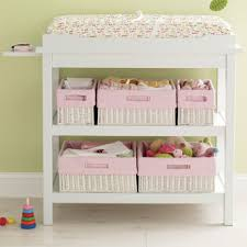 Changing Tables For Babies Diaper Changing Table Cloth Covered Baskets Baby Room
