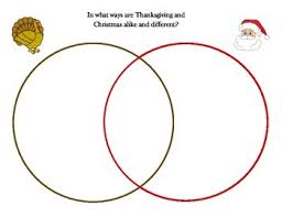 thanksgiving and compare and contrast venn diagram tpt