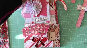 peppermint twist loaded bag christmas crafts youtube