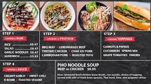 cuisine tv menut sachko fast food rice bowls noodle bowls soups
