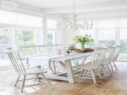 white dining room sets cottage dining room table