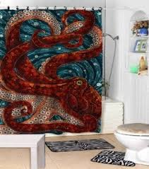 Nautical Anchor Shower Curtain Nautical Shower Curtains Foter