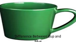 mug vs cup difference between cup and mug youtube