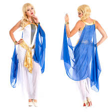 Egyptian Goddess Halloween Costumes Women U0027s White Indian Egyptian Goddess Arab Princess Dress