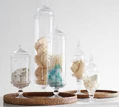 Bathroom Apothecary Jar Ideas Colors Pb Classic Glass Apothecary Jars Pottery Barn Medium For