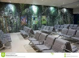 interior design ideas airport waiting room editorial photo