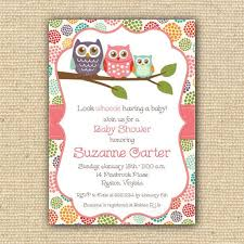 owl baby shower baby shower invitation templates owl baby girl shower invitations