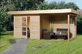 gartenhaus design flachdach anbau flachdach holz gestalten ideen für haus bauen ideen holzhaus
