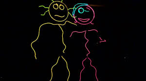 halloween costumes led lights el wire stick people halloween costume 2010 youtube