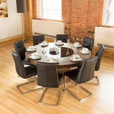 Large Kitchen Tables And Chairs by Seater Round Dining Table And Chairs With Inspiration Image 1289