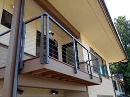 stainless steel deck railing mate u2014 railing stairs and kitchen