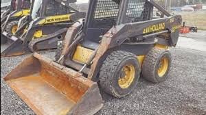 new holland ls180 b skid steer loader service parts catalogue