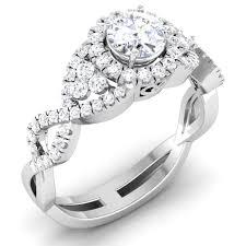 engagement rings india designer 60 pointer solitaire engagement ring in platinum jl pt 441