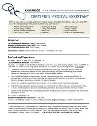 Cna Sample Resume Entry Level by Sample Resume With Certifications Free Resume Example And