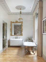 Contemporary Cornices London Bathroom Tub Ideas Contemporary With Shower Polyester