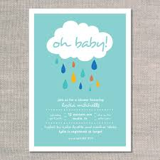 baby sprinkle invitations big raindrops uh oh pasghettio
