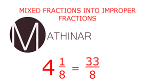 Mixed Numbers To Improper Fractions Worksheet Mixed Fractions To Improper Fractions Youtube