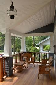 Porch Light Portland Portland Craftsman Porch Columns Traditional With Wood Deck Raised
