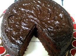 nitha kitchen chocolate fudge cake